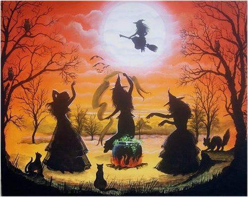 siyah kediler ve cadılar