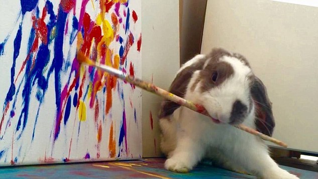Ressam Tavşan Bini